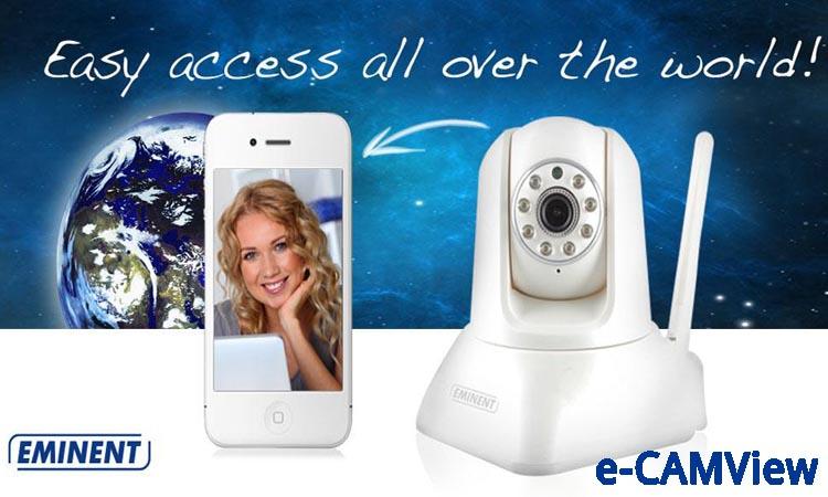 e-CamView - программа для видеонаблюдения. Инструкция. Скачать