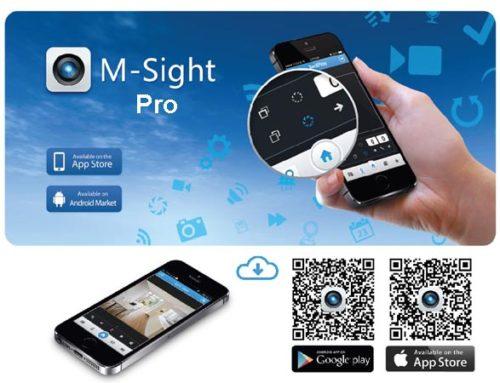 M-Sight Pro — приложение для видеонаблюдения. Инструкция. Скачать
