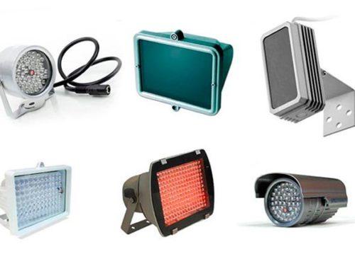 Инфракрасные прожекторы для видеонаблюдения