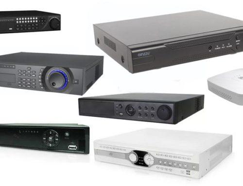 Типы видеорегистраторов систем видеонаблюдения