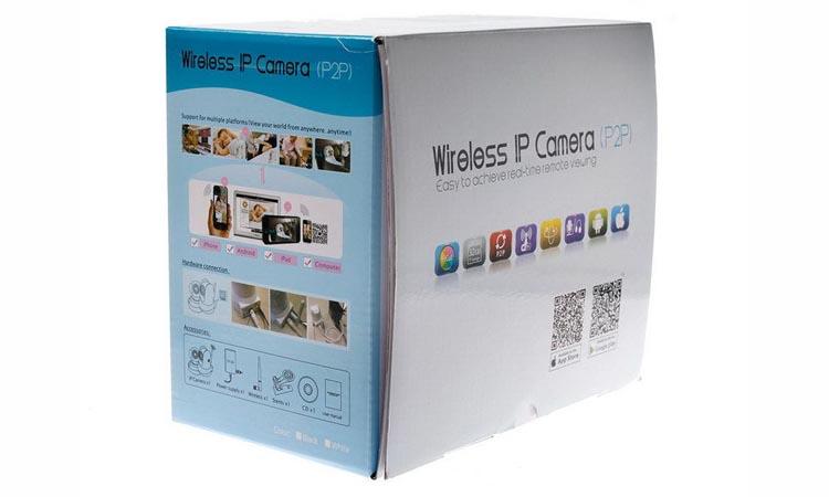 P2P Wireless IP camera - программа для видеонаблюдения