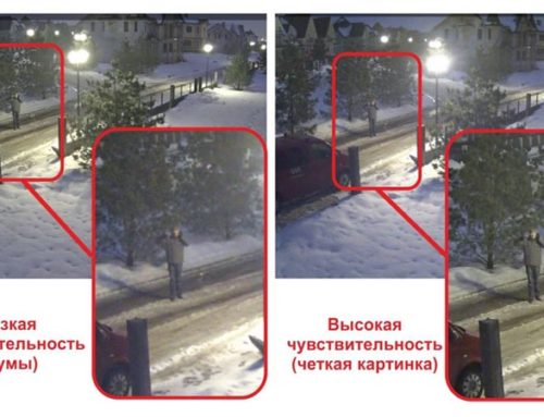 Способы улучшения чувствительности камер видеонаблюдения