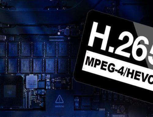 Кодек H.265 и его отличие от предыдущих форматов сжатия