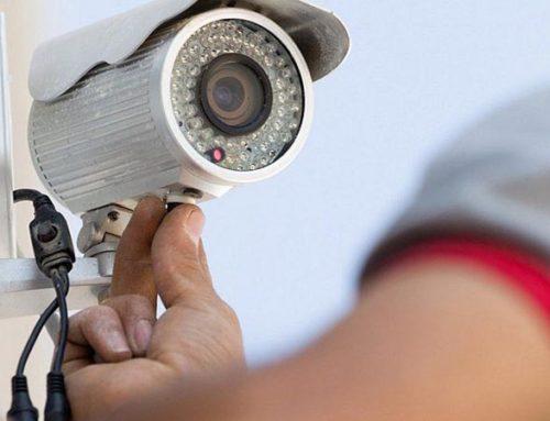 Порядок монтажа системы видеонаблюдения