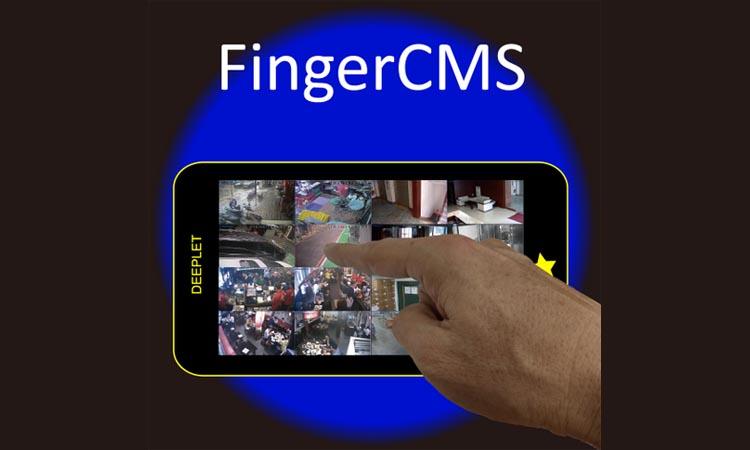FingerCMS - приложение для видеонаблюдения. Инструкция. Скачать