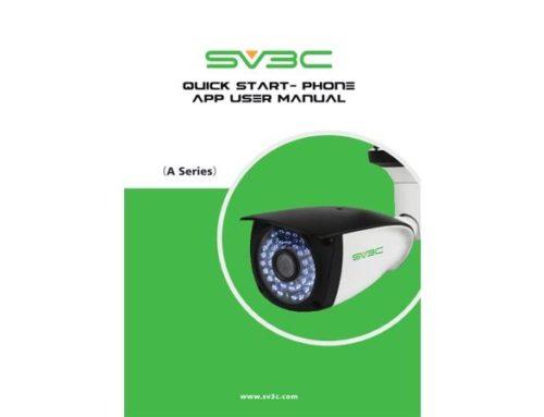 SV3C — приложение для видеонаблюдения. Инструкция. Скачать