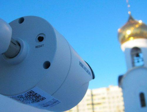 Монтаж систем видеонаблюдения в церквях Москвы и Подмосковья
