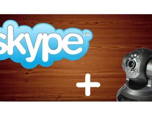 Подключение IP-камеры к скайпу