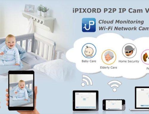 iPIXORD P2P IP Cam Viewer — приложение для видеонаблюдения. Мануал. Скачать