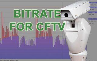 Как настроить битрейт системы видеонаблюдения?