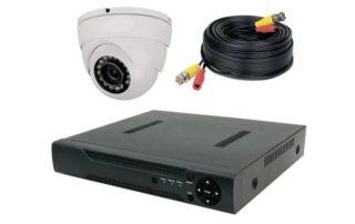 Подключение аналоговых и гибридных камер видеонаблюдения