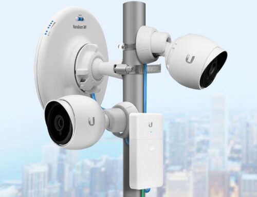 Использование беспроводного моста для IP-камер