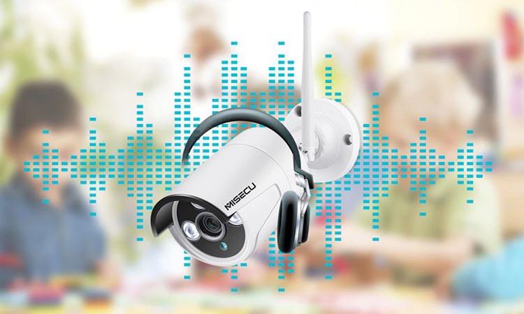 Настройка звука в системах видеонаблюдения