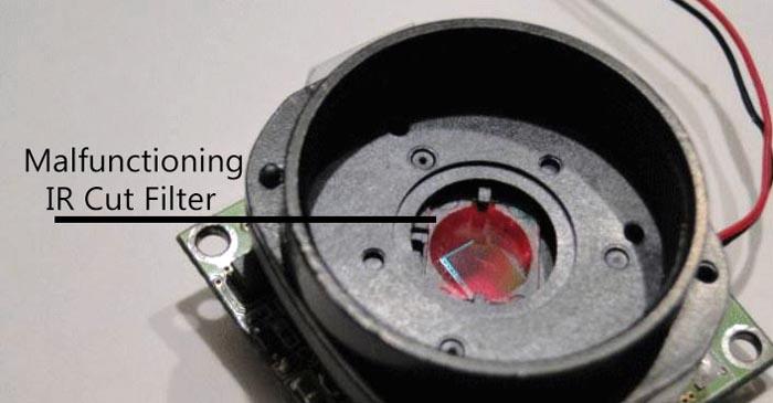 Что делать, если изображение с камеры видеонаблюдения стало одноцветным?