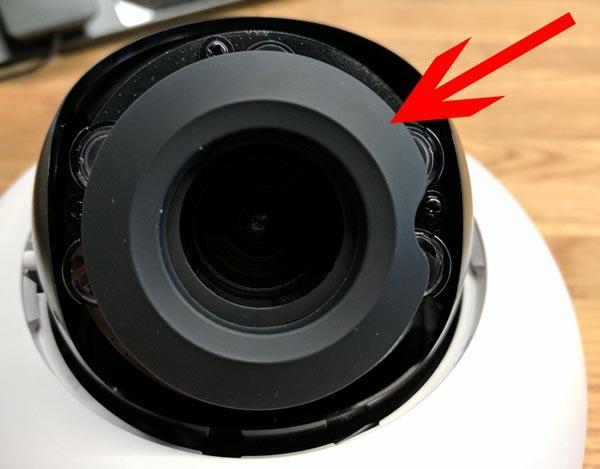 Как убрать яркие пятна на видео при работе камер видеонаблюдения?
