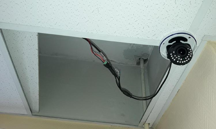 Как спрятать кабели системы видеонаблюдения?