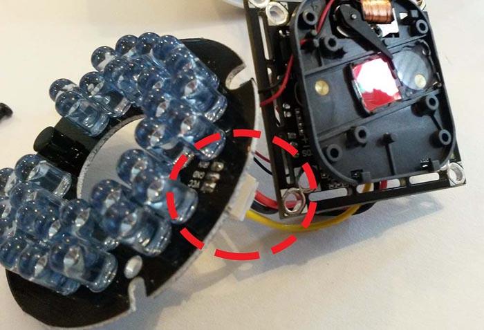 Способы отключения инфракрасной подсветки камер видеонаблюдения