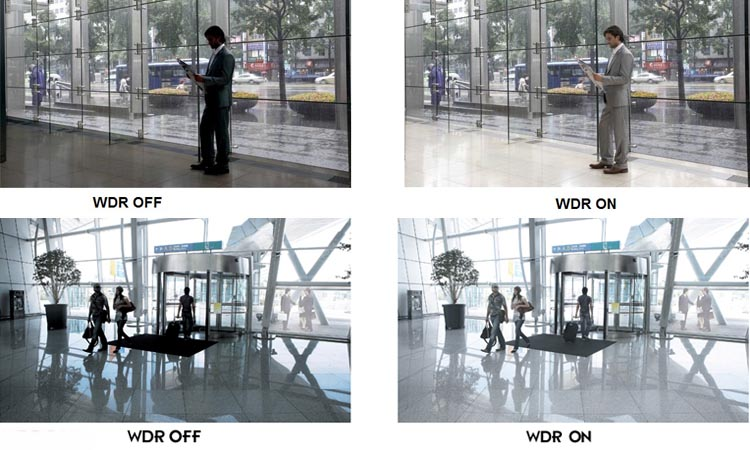 Технология широкого динамического диапазона в видеонаблюдении