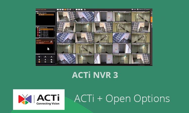 ACTi NVR v3.0 - программа для видеонаблюдения. Инструкция. Скачать